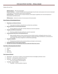 PSY100H1 Study Guide - Final Guide: Acculturation, Phenotype, Fluid And Crystallized Intelligence