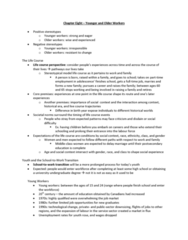 Sociology 2169 Lecture Notes - Krahn People, Mandatory Retirement, Discouraged Worker
