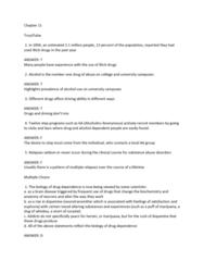 BPK 140 Study Guide - Quiz Guide: Health Canada, Methamphetamine, Constipation