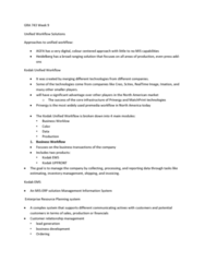 GRA 743 Lecture Notes - Product Data Management, Enterprise Resource Planning, Customer Relationship Management