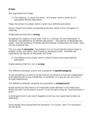PHIL 415 Lecture Notes - Definite Description