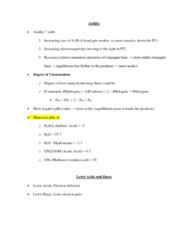 CHEM 2OA3 Lecture Notes - Trigonal Planar Molecular Geometry, Acetic Acid, Conjugate Acid