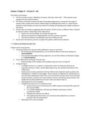 BI301 Lecture Notes - Goose Bumps, Rubber Boa, Vestigiality