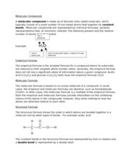 CHEM 1F92 Lecture Notes - Formula Unit, Halothane, Ionic Compound