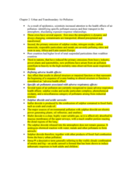 PSYC 3450 Chapter Notes - Chapter 2: Sulfur Dioxide, Time Series, Air Pollution