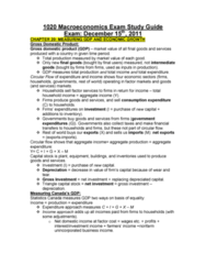 Economics 1022A/B Study Guide - Final Guide: Real Interest Rate, Loanable Funds, Nominal Interest Rate