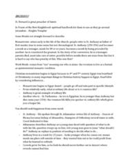 SMC103Y1 Lecture Notes - Monasticism, Kenosis, Montecasino