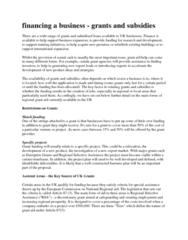 AFM102 Lecture Notes - Conditionality, Rural Development, Scottish Government