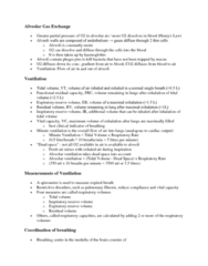 BIOL 1003 Lecture Notes - Partial Pressure, Intercostal Muscle, Spirometer