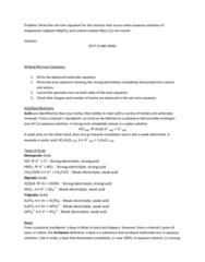 55-100 Lecture Notes - Weak Base, Ionic Compound, Sodium Hydroxide