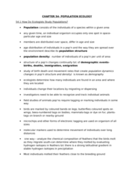 55-100 Lecture Notes - Metapopulation, Net Reproduction Rate, Homo Sapiens