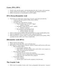 55-100 Lecture Notes - Molecular Mass, Peptide, Cell Nucleus