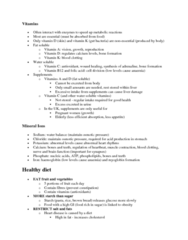 59-110 Lecture Notes - Malabsorption, Probiotic, Coronary Artery Disease