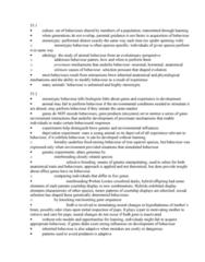 BIOL 467 Lecture Notes - Circadian Clock, Circadian Rhythm, Eusociality