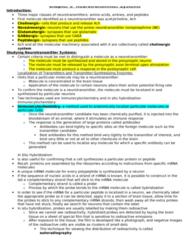 BIOL 467 Lecture Notes - Kainic Acid, Serotonergic, Alpha Helix