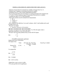 SOCY 211 Lecture Notes - Dependent And Independent Variables