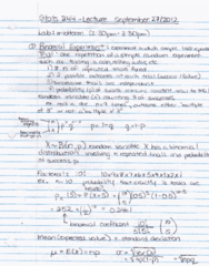 STAT 244 Lecture Notes - Hne