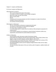 ITM 430 Chapter Notes - Chapter 8: Storyboard, Software Architecture