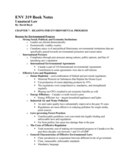 ENV 319 Chapter Notes - Chapter 7: Municipal Solid Waste, Ecological Footprint, Canadian Environmental Assessment Act