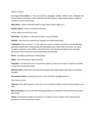 SOC 1200 Chapter Notes - Chapter 3: Consumerism, Jimi Hendrix, Intelligentsia