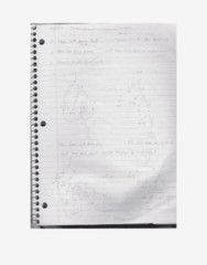 LIN100 Lecture examples (handwritten)