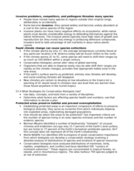 STAT 2230 Lecture Notes - Cites, Ecosystem Services, Species Richness