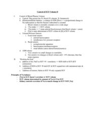 BIOL 1840U Lecture Notes - Osmotic Concentration, Hemodynamics, Sodium Chloride