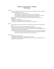 BIOL 1840U Lecture Notes - Hair, Lamellar Corpuscle, Sweat Gland