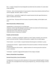 BIOL 3010 Lecture Notes - De Jure, Interracial Marriage, Ascribed Status