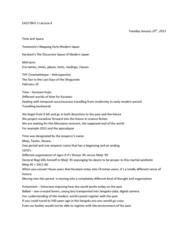 EAS100Y1 Lecture Notes - Woodblock Printing, Birds Eye View, Sengoku Period