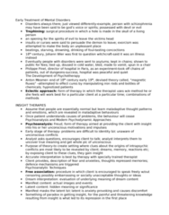 PSYC 3F40 Lecture Notes - Intensify, Relaxation Technique, Pharmacotherapy