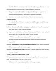 MGMT 722 Lecture Notes - Cogeneration, Perfect Competition, Economic Equilibrium
