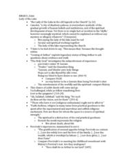 ENGB31 Lecture Notes - Gareth, Gingalain, Bors