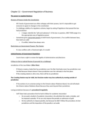 BU451 Chapter Notes - Chapter 32: Canadian Environmental Protection Act, 1999, Canadian Environmental Assessment Act, Concurrent Jurisdiction