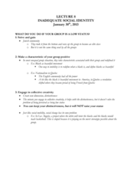 PSYC 331 Lecture Notes - Lecture 8: Occupy Movement, Two-Dimensional Nuclear Magnetic Resonance Spectroscopy