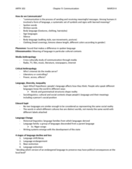 ANTH100 Lecture Notes - Endangered Language, Kimono, Sociolinguistics