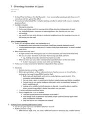 PSYC 330 Lecture Notes - Superior Colliculus, Zoom Lens, Adam Savage
