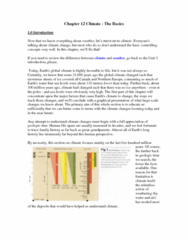 Geography 2240A/B Lecture Notes - Bunsen Burner, Radiative Forcing, Geologic Time Scale