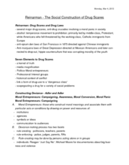 SOC 2070 Lecture Notes - Mothers Against Drunk Driving, Moral Panic, Substance Abuse