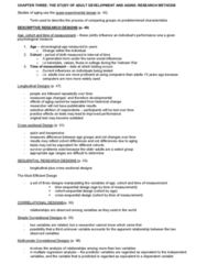 PSYC 357 Chapter Notes - Chapter 3: A Generation, Dependent And Independent Variables, Convergent Validity