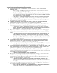 SOCB51H3 Chapter Notes -Family Values, Heterosexuality, Jonathan Ned Katz