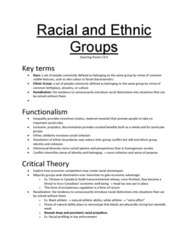 SOC102H1 Chapter Notes -Acculturation, Interculturalism, Imagined Community