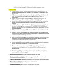 PSYC 1000 Study Guide - Psychoneuroimmunology, The Cocktail Party, Rorschach Test
