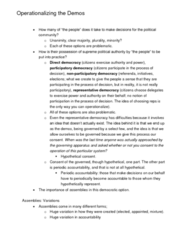 POLS 110 Lecture Notes - Archos, Veto, Constitutional Basis Of Taxation In Australia