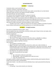 SOC 3490 Study Guide - Midterm Guide: Eyewitness Testimony, Selective Perception, Public Citizen