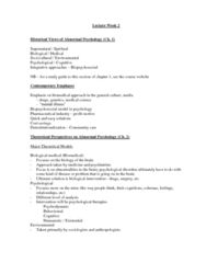 Psychology 2310A/B Lecture Notes - Excitatory Synapse, Biopsychosocial Model, Butyric Acid