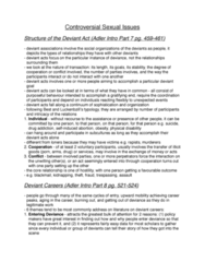 SOC 2070 Chapter Notes -Anal Sex, Gilbert Herdt, David Lubar