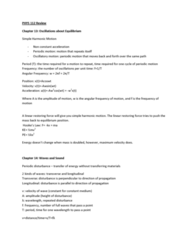 PHYS112 Study Guide - Charge Conservation, Superposition Principle, R V R