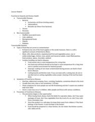CIVTECH 3CS3 Lecture Notes - Lecture 8: Cholesterol, Diabetes Mellitus Type 2, Dysphagia