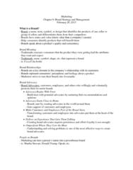 COMM 131 Chapter Notes - Chapter 9: Brand Equity, Brand Management, Kodak